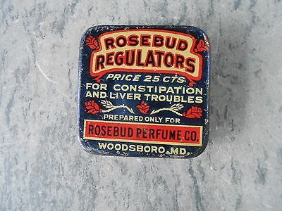 Rosebud-Perfume-Co-Woodsboro-Md-Advertising-Tin-Constipation-Liver-Remedy