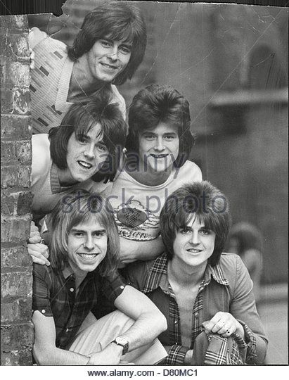 Pop Group Bay City Rollers The Bay City Rollers - Stock Photo