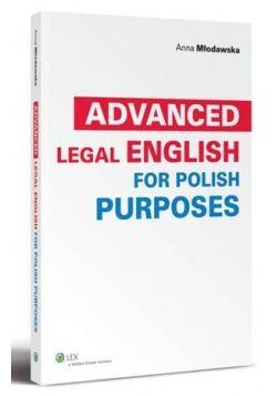 Advanced Legal English for Polish Purposes 39,20 zł