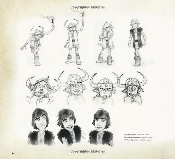 Character Design Pdf : The art of how to train your dragon tracey miller zameke