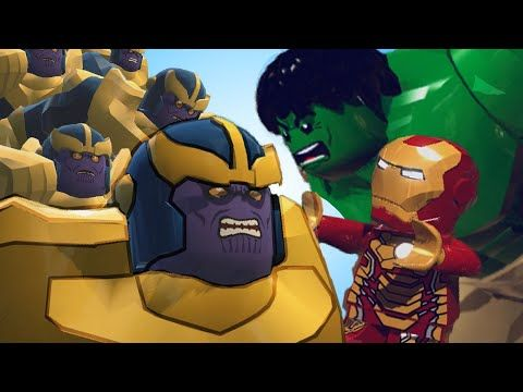 Army Of Thanos Vs Iron Man And Hulk Lego Marvel Super Heroes Youtube Lego Iron Man Lego Marvel Super Heroes Iron Man