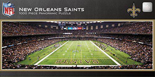 Masterpieces Nfl New Orleans Saints Stadium Panoramic Jigsaw Puzzle 1000piece Che New Orleans Saints Stadium New Orleans Saints Football New Orleans Saints