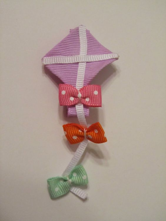 An example of a kite.  I love this idea and will try out my own.