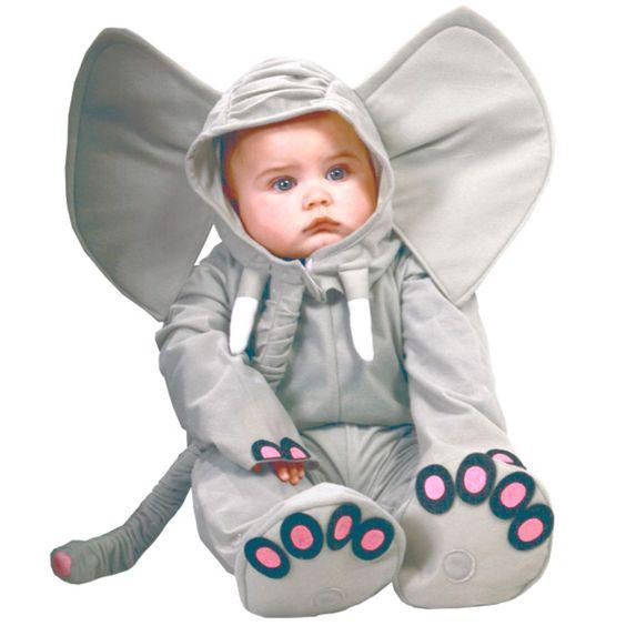 Elefanten-Kostüm für die Kleinen ... gesehen bei www.karneval-feuerwerk.de