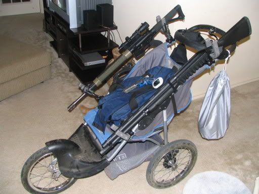 My War Gun Racks And Strollers On Pinterest