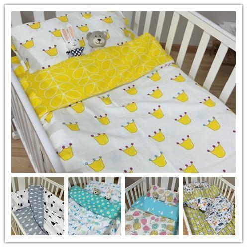 2016 New Born Baby Bedding Sets 5 Patterns Set Babies Kids Infant