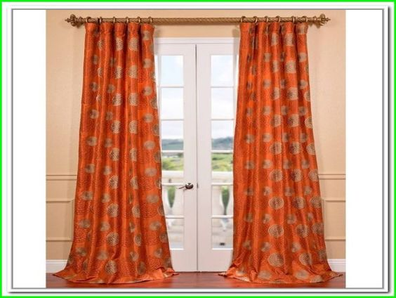 Burnt Orange Curtains And Drapes Stuff Pinterest