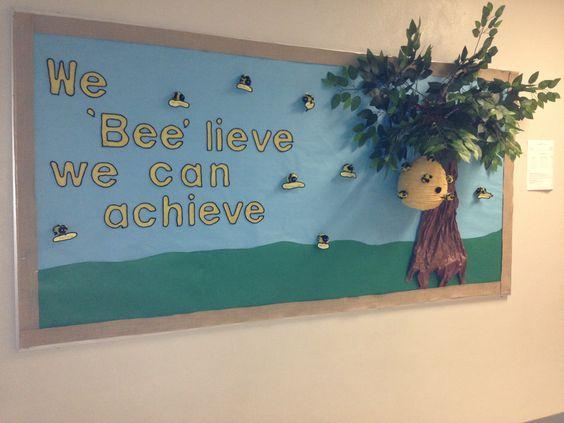 Elementary School Bulletin Board.   2015