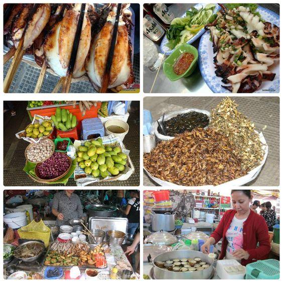 Những món ăn ở chợ Lớn Mới