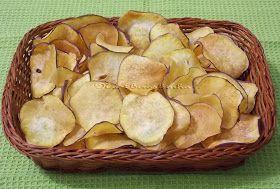 Na Biroskinha: Chips de Batata-doce