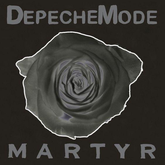 Depeche Mode – Martyr (single cover art)
