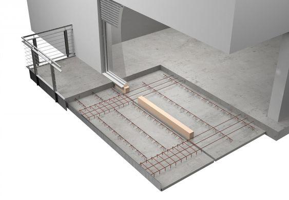 Système balcon béton, Balcon béton préfabriqué | Rector
