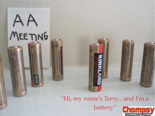 aa meeting battery