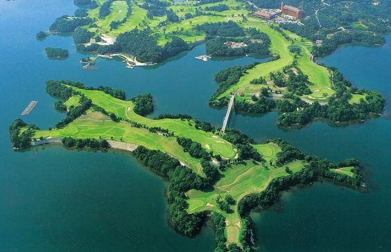 Ocean Palace Golf Club à Nagasaki.