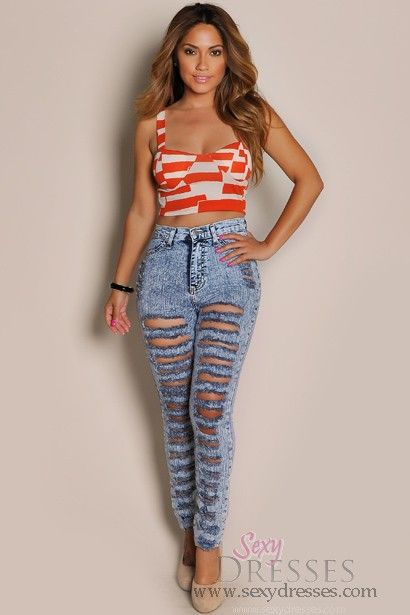 Sexy Acid Wash High-Waisted Cut-Out Skinny Jeans | Sexy, Love and ...