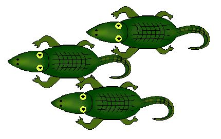 alligator art | Alligator and Crocodiles Clip Art Links - Crocodiles Clip Art ...
