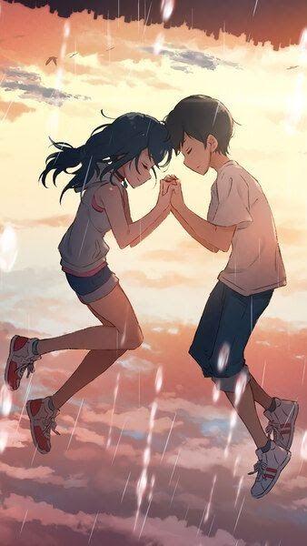 19 4k Anime Couple Wallpaper 2020的weathering With You Hina Amano Hodaka Morishima 4k Hd Download Anime Couple Wal Anime Films Anime Movies Anime Wallpaper