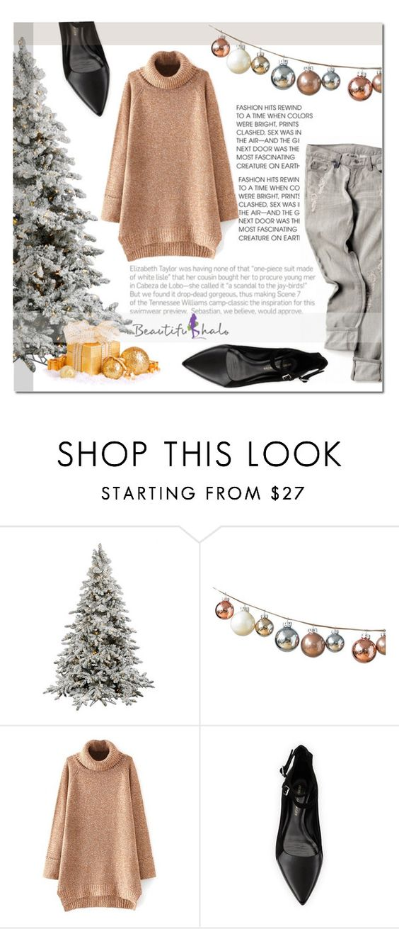 """""""Beautiful halo"""" by katienochvay ❤ liked on Polyvore featuring DwellStudio and Rebecca Minkoff"""