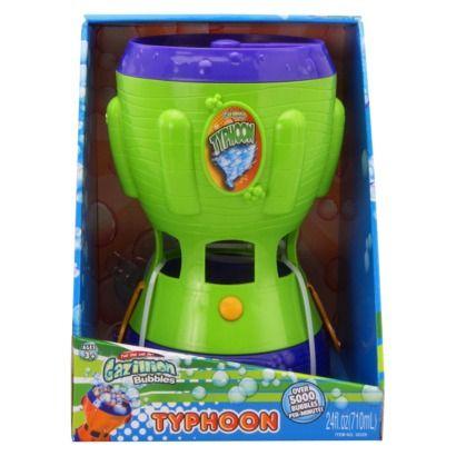 gazillion bubble machine target