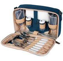 LOVE THIS! 50% off until Tuesday. $19.25!! Picnic and Beyond Beachside Picnic Carrier for Two from Aldea Home
