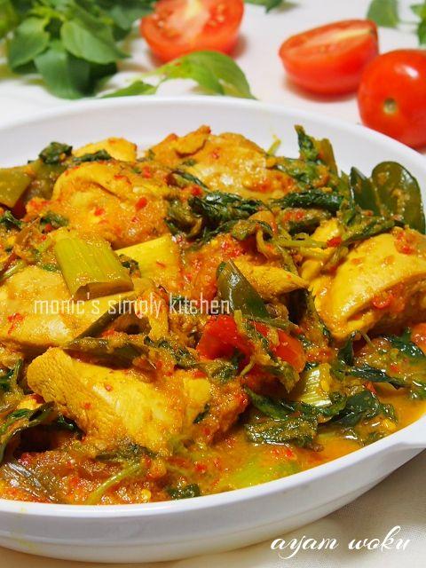 Ayam Woku Khas Manado Resep Masakan Indonesia Resep Ayam Resep Makanan Asia