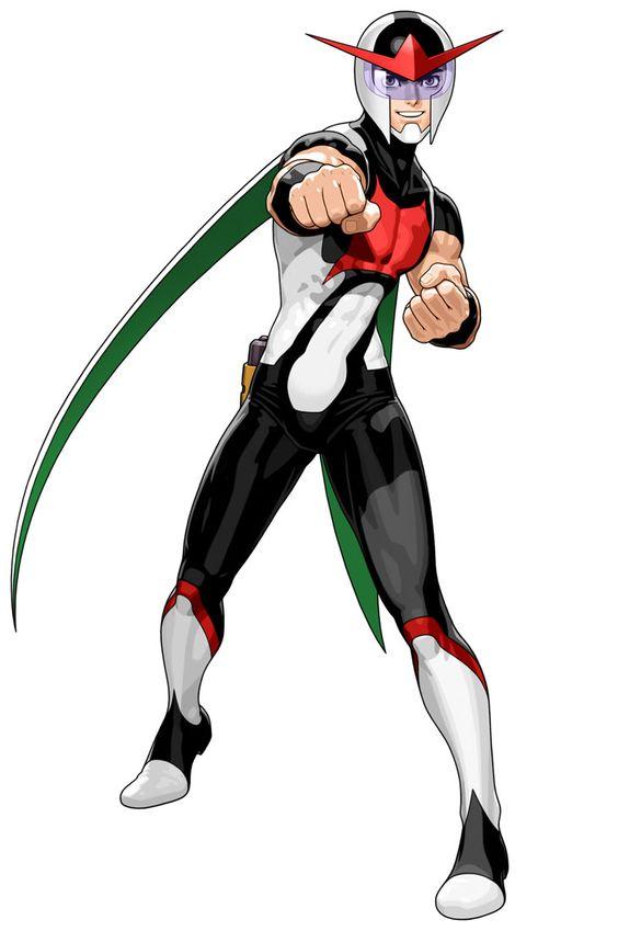Anime Characters Vs : Japanese superhero design tatsunoko vs capcom