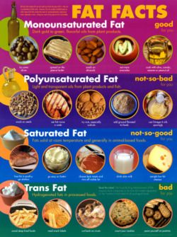 Too much fat is no good but not all fats are bad.  Know which ones are ok and which ones to avoid.