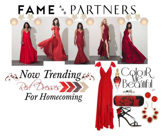 """""""Hello Homecoming with Fame & Partners: Contest Entry"""" by ruaorlia13 on Polyvore featuring Fame & Partners, Mitchell Gold + Bob Williams, Dana Rebecca Designs, Alexander McQueen, Dolce&Gabbana, Style & Co. and famebabe"""