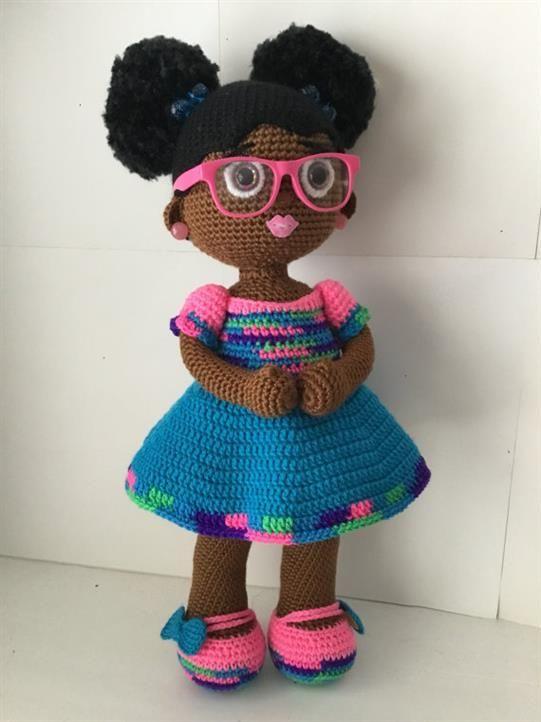 Boneca de crochê: Ideias com amigurumi   Bonecas de crochê ...   722x541