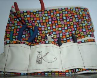 Delantal/cinturón de herramientas para artesanos