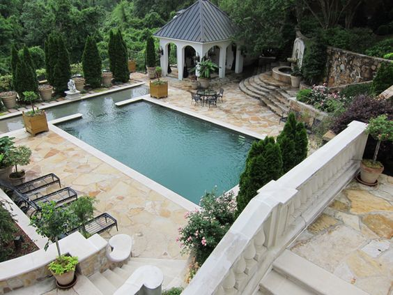 The outdoor living room p allen smith style pool design for P allen smith living room