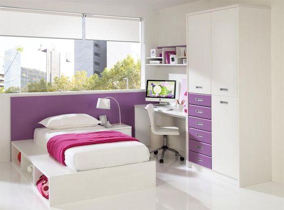 jugendzimmer einrichten und dekorieren, schlafzimmer in weiß und - schlafzimmer jugendzimmer einrichtungsideen