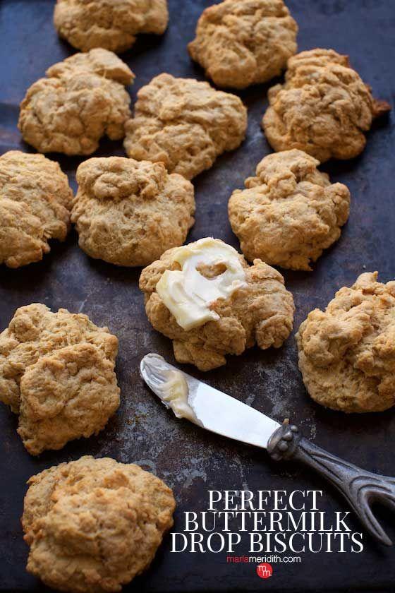 Perfect Buttermilk Drop Biscuits Recipe For Breakfast Drop Biscuits Buttermilk Drop Biscuits Biscuit Recipe Video