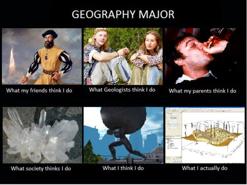Geography fun college majors