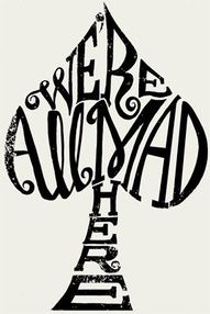 I want to get this on my thumb, love alice in wonderland