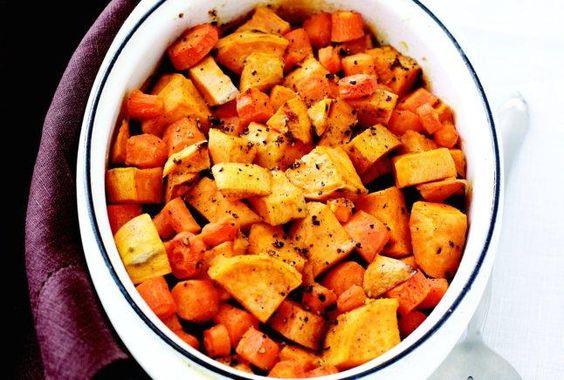 Sweet Potato Carrot Bake