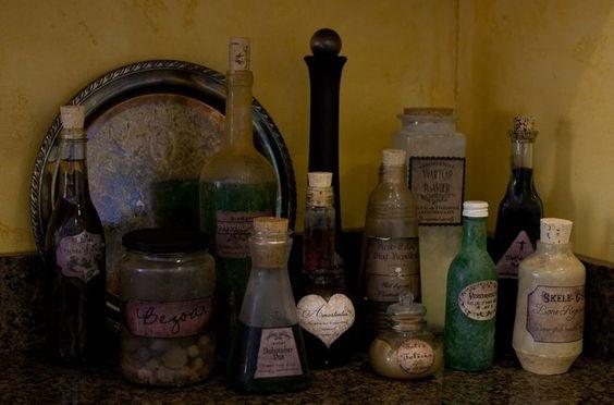 Larp old bottles