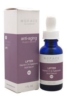 Nuface Lifter Vitamin C & Hyaluronic Acid Serum S3 Nuface 1 oz Serum Unisex
