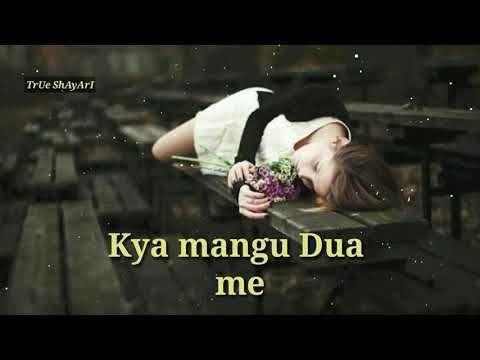 Very sad Dard bhari heart touching 2 line shayari video