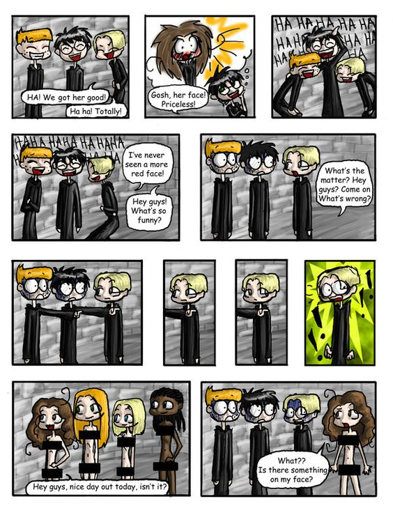 Naked time! Part 2 | Harry Potter - Fan Art | Pinterest