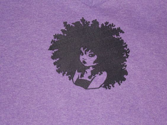 Machine embroidered Natural Hair tshirt by ethnicflair on Etsy, $12.99