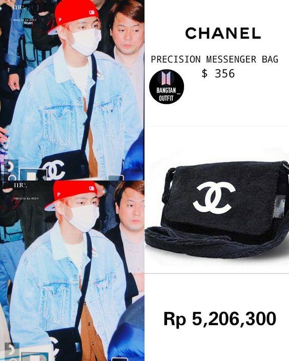 "BTS FASHION & STYLE on Instagram: ""SOLO, JAWA TENGGARA 😂 .. .. Note: harga tas nya dari tradesy.com ga nemu harga dari official site 🙏 #CHANEL"""