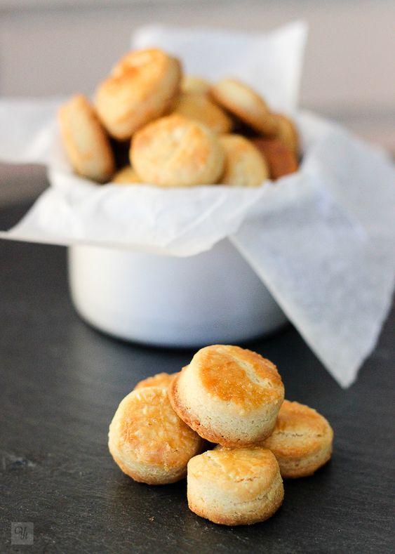 Galletas de queso azul. INT