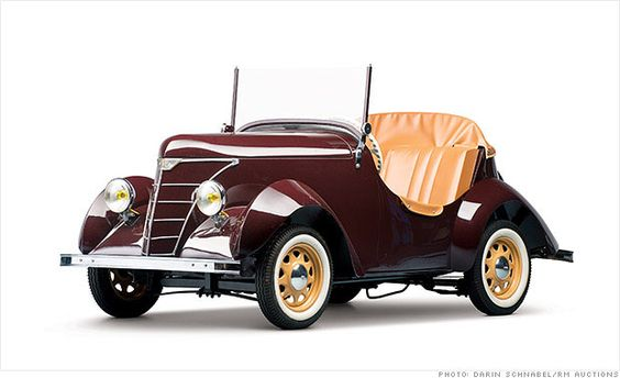 Microcars worth big bucks at museum auction - 1950 Rolux Baby (15) - CNNMoney