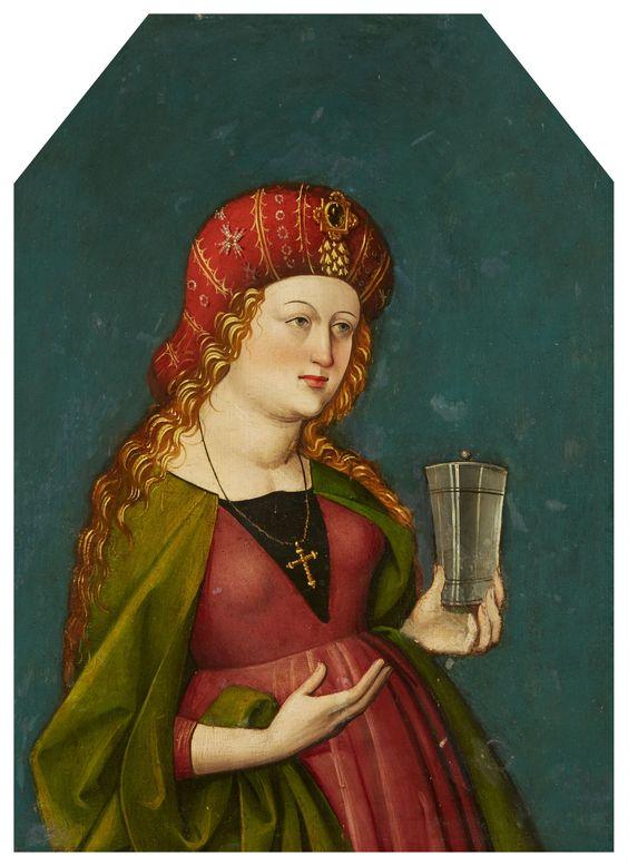 Magdalena  Oberrheinischer Meister um 1500