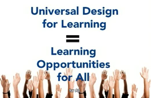 Universal Design For Learning Udl Is A Framework That Addresses The Primary Barrier To