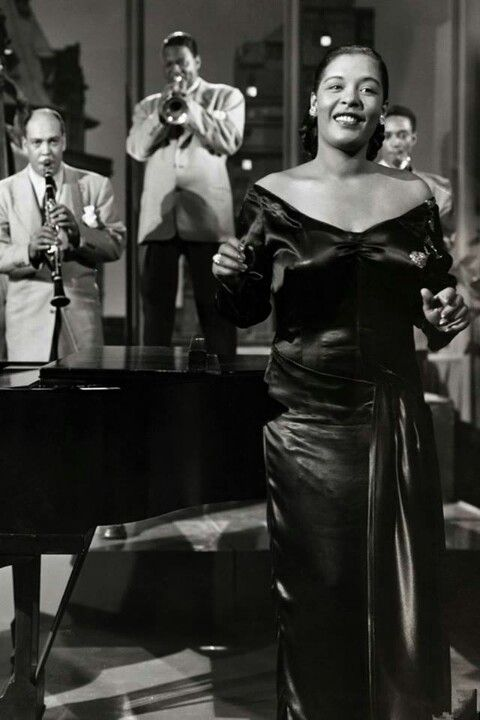 The legendary Billie Holiday