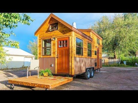 The Davis Off Grid Tiny House On Wheels By Mitchcraft Tiny Homes