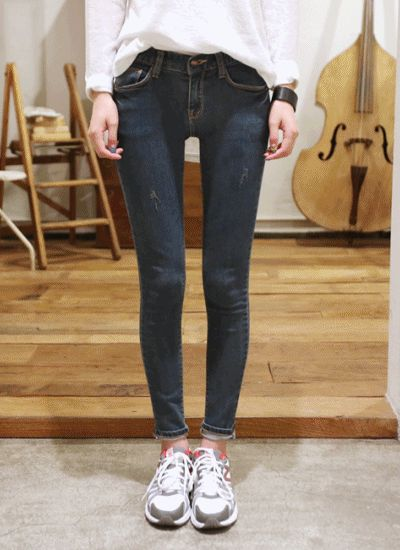Denim Long Jeans  ★ Free Worldwide Shipping ★ - S$54.00