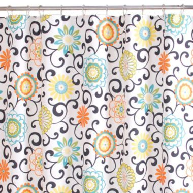 Shower Curtains » Blue And Yellow Shower Curtains - Inspiring ...